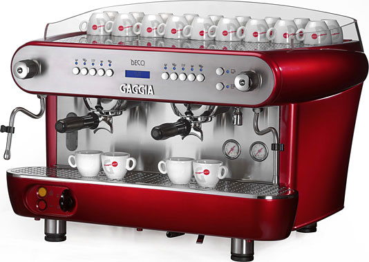 Gaggia espresso coffee machine
